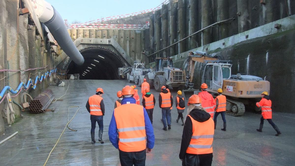 Tunnelbau  Foto: Institut für Geotechnik