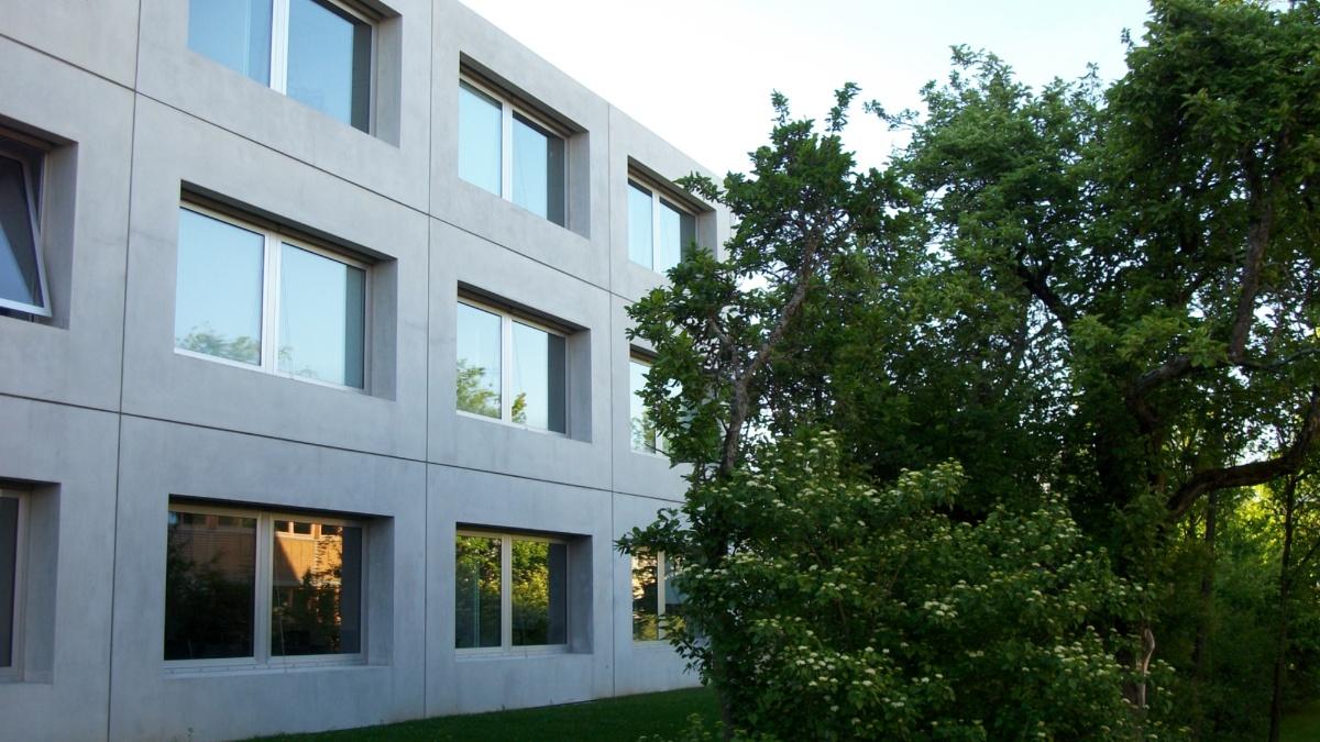 Das Gebäude des Instituts für Maschinelle Sprachverarbeitung  IMS