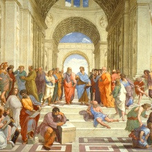 Philosophische Schule in Athen