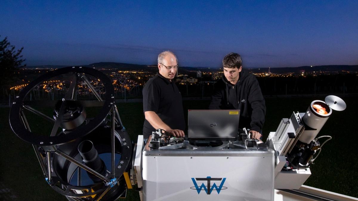 Lasergestützte Ortung und Beseitigung von Weltraumschrott