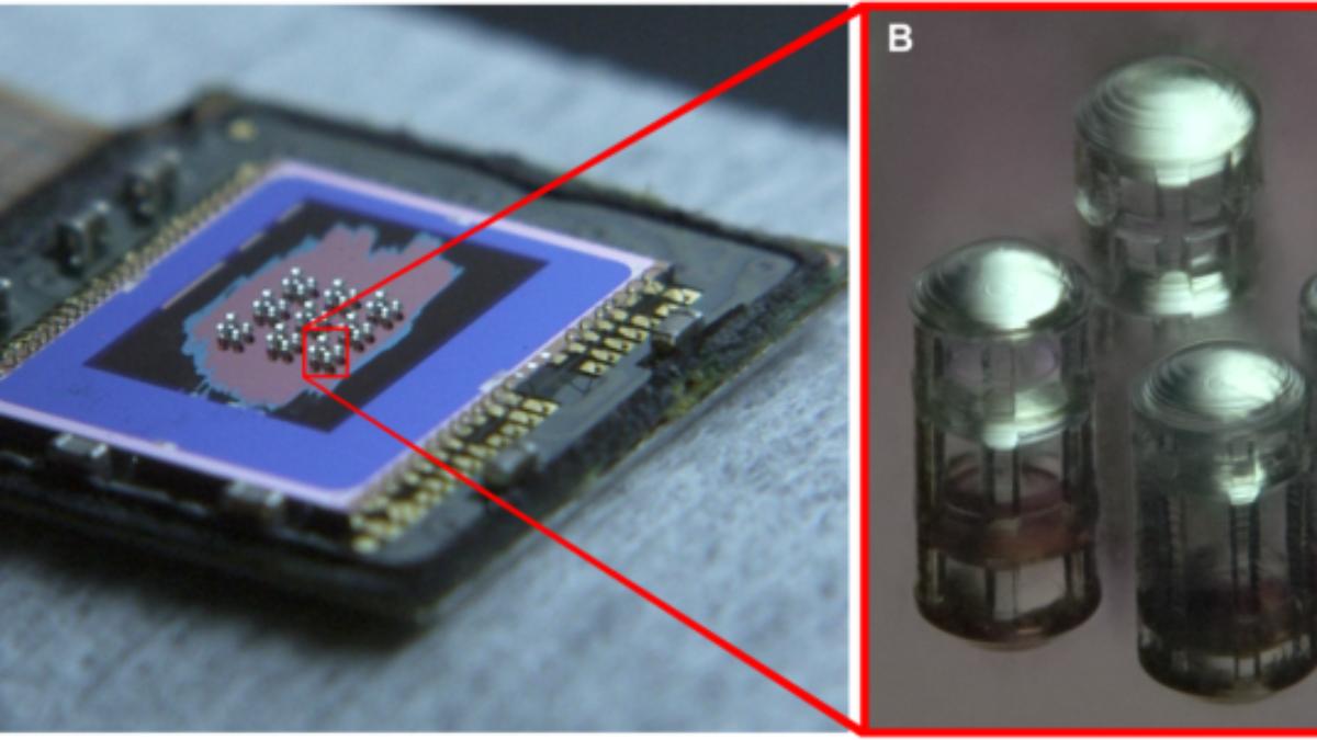 3D - Gedruckte Mikrooptiken