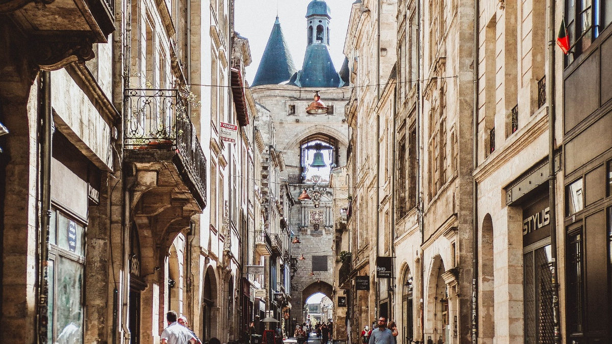 Die UNESCO-klassifizierte Altstadt von Bordeaux Julien Lacorne