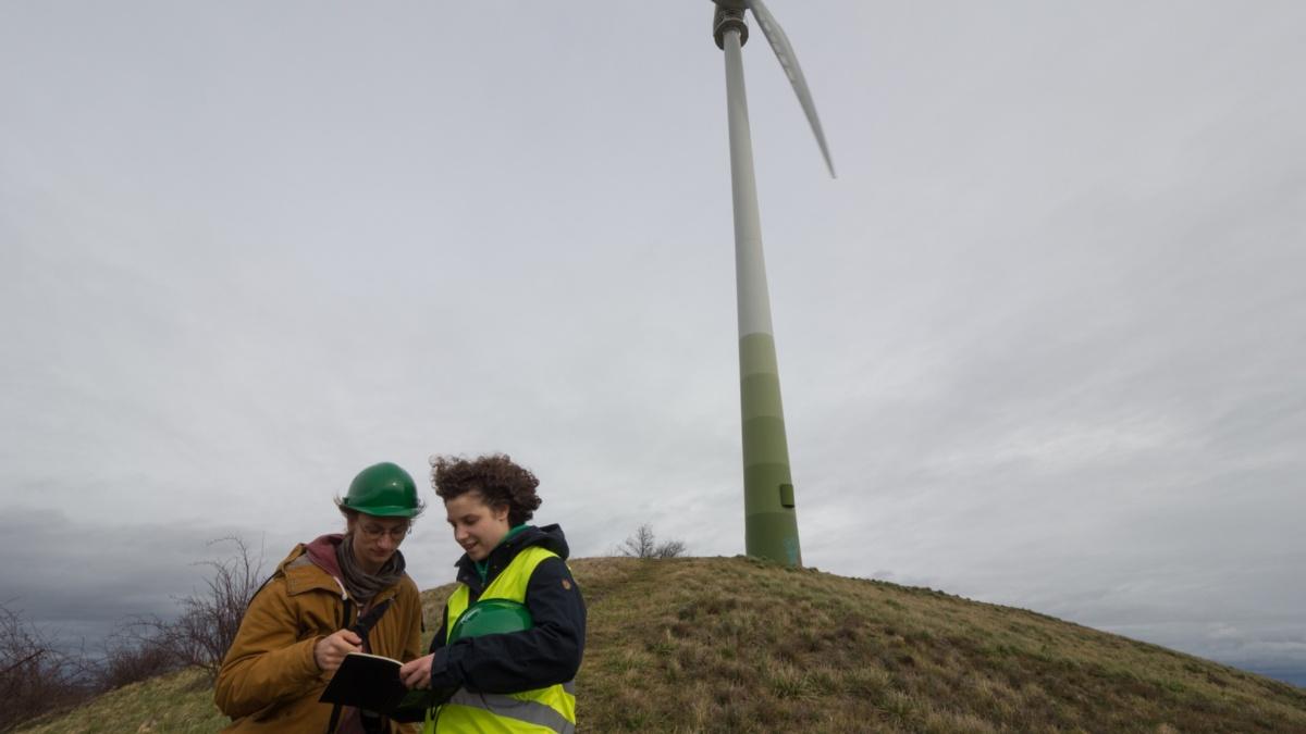 Studiengang Umweltschutztechnik: Energie Windkraftanlage