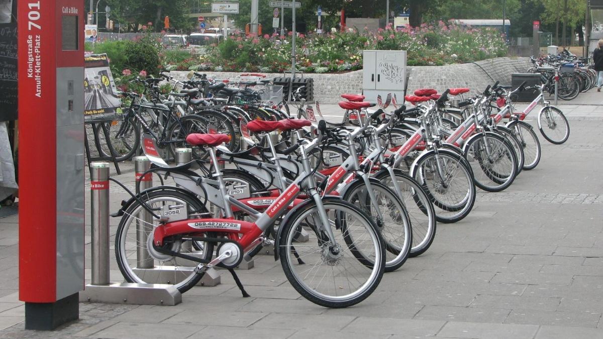 Fahrradverleihstation  Foto: ISV-VuV
