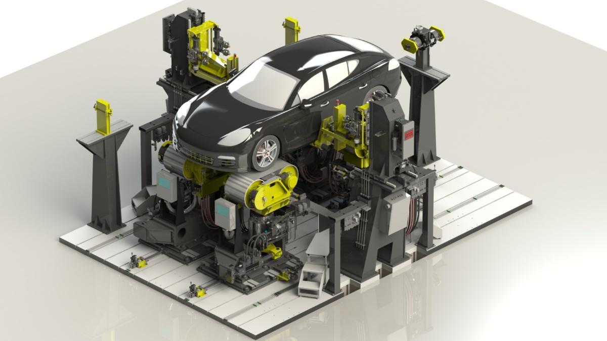 Fahrzeugdynamikprüfstand  MTS Systems Corp.