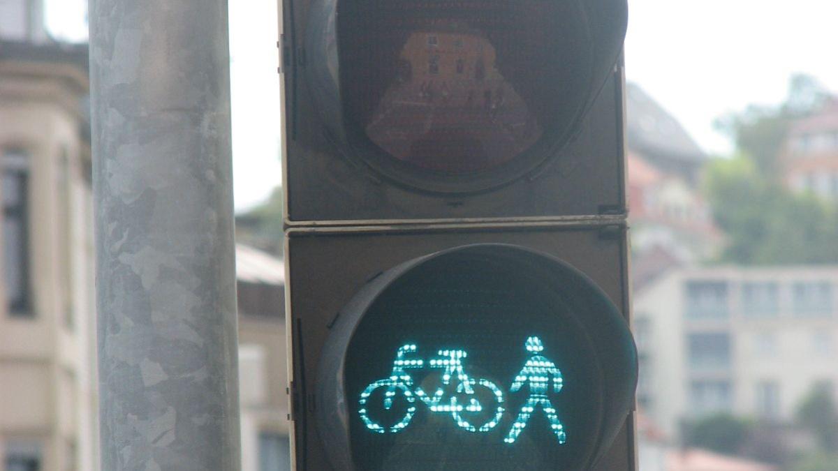 Lichtsignalanlage für Fußgänger und Radfahrer  ISV-VuV