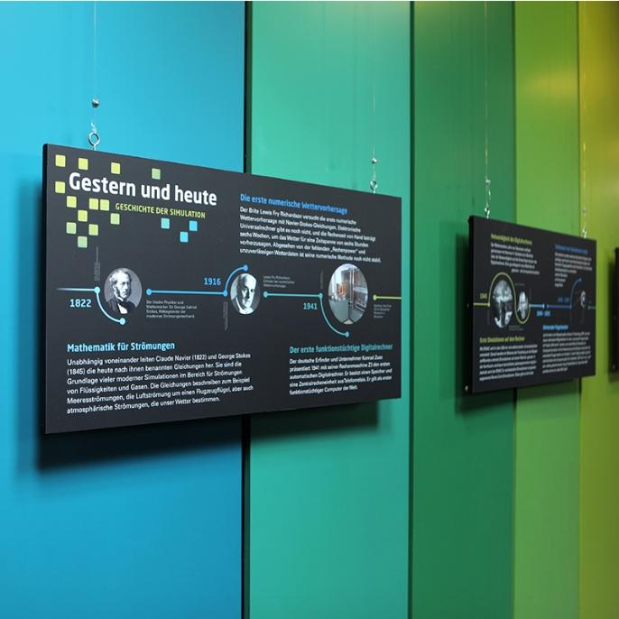 Foto 2: Geschichte der Computersimulation.