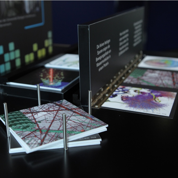 Foto 4: Station zum Thema Visualisierung.