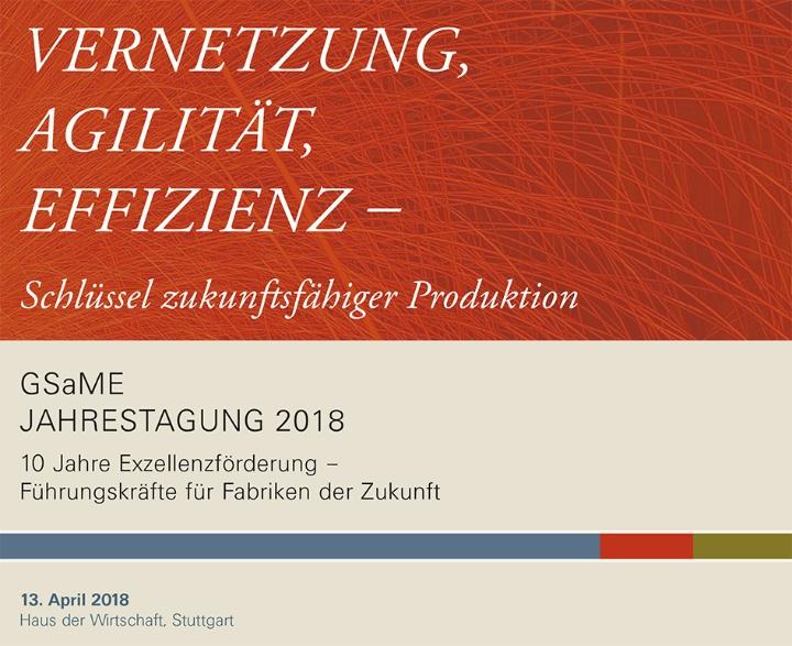Die GSaME Jahrestagung 2018. (c) GSaME