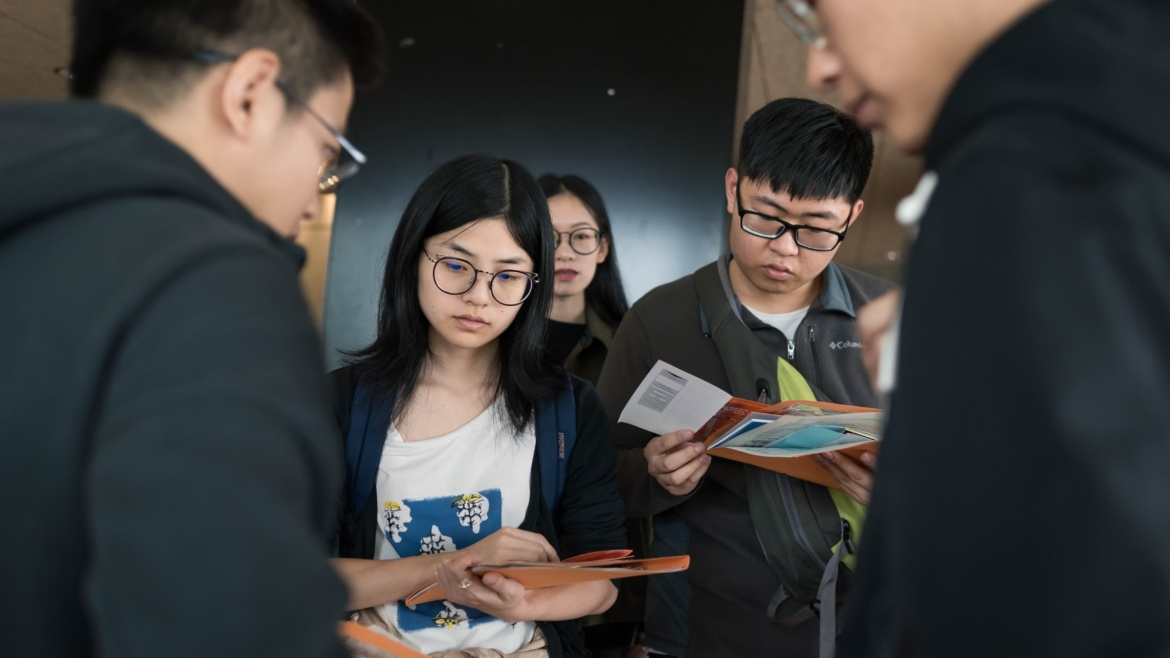 The university welcomes around 300 new international students for the coming winter semester.
