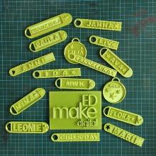 Am Girls Day wurden Schlüsselanhänger mit einem 3D-Drucker gedruckt.
