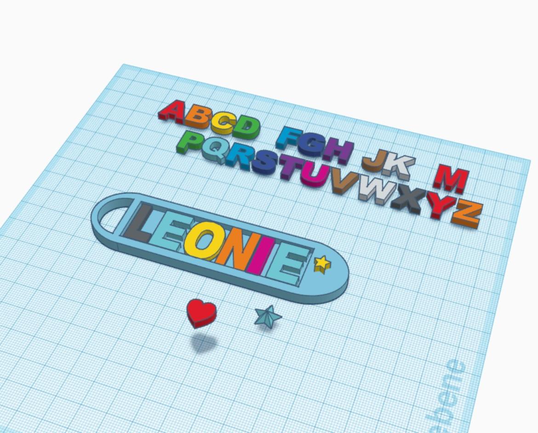 Abbildung eines 3D-Modells in Tinkercad.