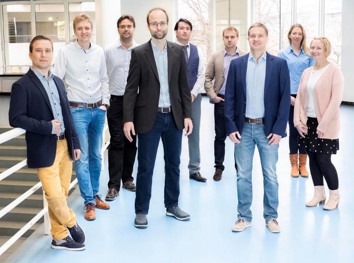Teammitglieder des Startups Swabian Instruments