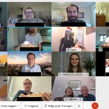 Screenshot aller Teilnehmer*innen des virtuellen Treffens