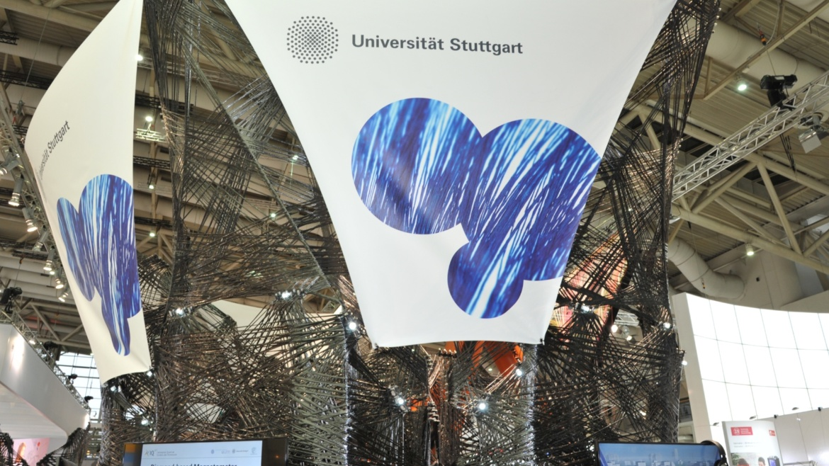 Research findings by the University of Stuttgart at the world's most significant trade fair