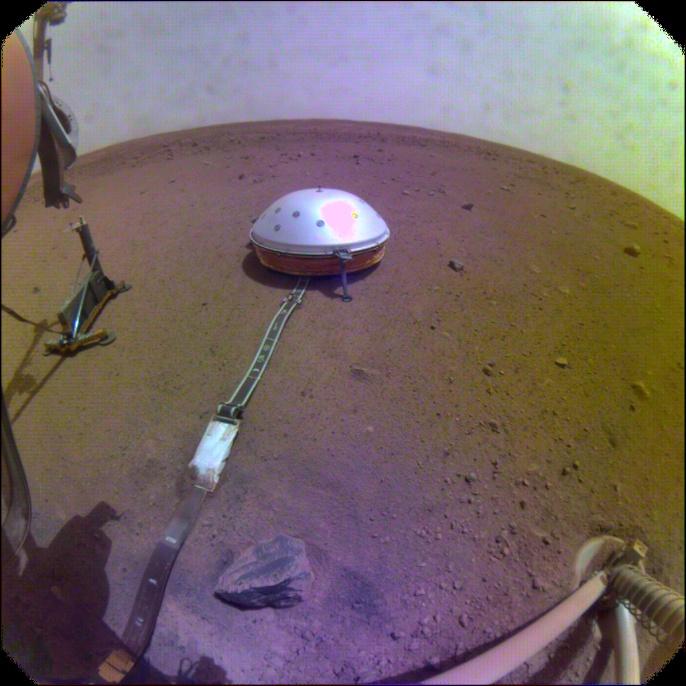 Seismometer auf dem Mars