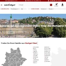Screenshot des Online-Marktplatzes