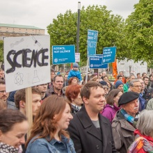 Press release 31: Der March for Science 2017 in Stuttgart. Copyright: James Palik/marchforscience.de
