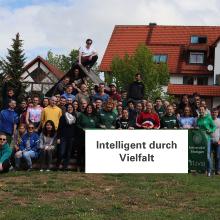 Gruppenbild der Fachgruppe Umweltschutztechnik beim Fachschaftswochenende