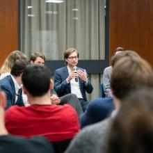vor Kurzem haben die Stuttgarter Change Labs im Rahmen einer Podiumsdiskussion bekanntgegeben, welche studentischen Projekte im Wintersemester Förderung erhalten werden vor Kurzem haben die Stuttgarter Change Labs im Rahmen einer Podiumsdiskussion bekanntgegeben, welche studentischen Projekte im Wintersemester Förderung erhalten werden