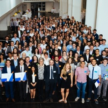 Official Ceremony Deutschlandstipendium 2018 – get-together and presentation of certificates