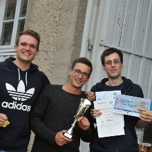 The team from the University of Stuttgart wins the competition to build the best bioreactor for 99 euros