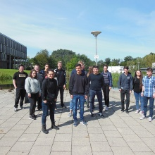 16 apprentices are starting their vocational training at the University of Stuttgart