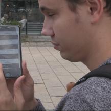 Die Darstellung in der App ist barrierefrei. VWI Stuttgart GmbH