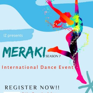 Plakat zum MERAKI-S07, International Dance Event