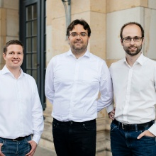 The founder of Swabian Instruments. Dr. Helmut Fedder, Dipl.-Ing. Markus Wick and Dr. Michael Schlagmüller (f.l.t.r.) are founder of Swabian Instruments.