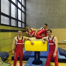 German university champion in gymnastics