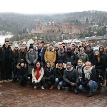 Studierende, die an der Winter University der Universität Stuttgart teilgenommen haben.