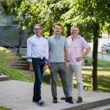 Prof. Alois Herkommer, Dr. Simon Thiele, Prof. Harald Gießen