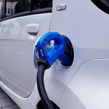 Zapfhahn für Elektroauto