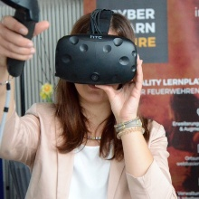 Virtual Reality Experience at meccanica feminale 2018