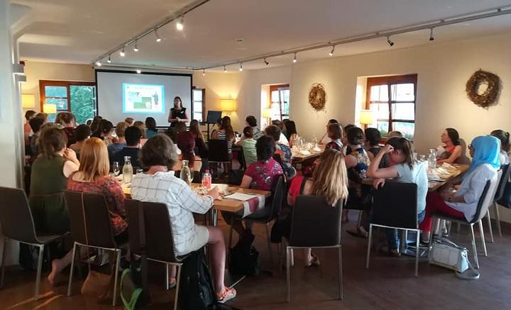 Vortrag beim Networking Dinner der informatica feminale 2018 (c) Netzwerk F.I.T
