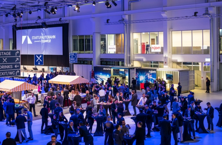 The EXPO Day took place at ARENA2036 building on the campus in Stuttgart-Vaihingen. (c) Daimler AG