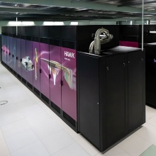 Supercomputer Hawk