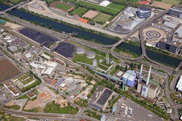 The Gaisburg Power Plant. Foto:  (c) EnBW