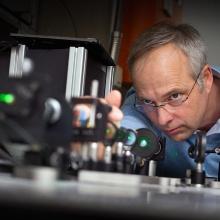 Presseinfo 32: Prof. Jörg Wrachtrup. Foto: Frank Eppler, Copyright: Frank Eppler