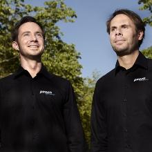 PINION-Geschäftsführer Christoph Lermen und Michael Schmitz.