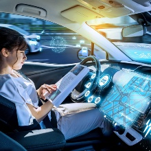 As part of the EMMA4Drive project, research is carried out into how autonomous driving can be made safe and how ergonomic factors can be taken into consideration.