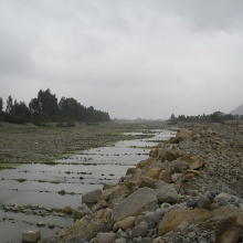 Press release 68: The Río Lurín south of Lima. TRUST researchers want to find out how much water it carries exactly, in what quality . Copyright: Christian León