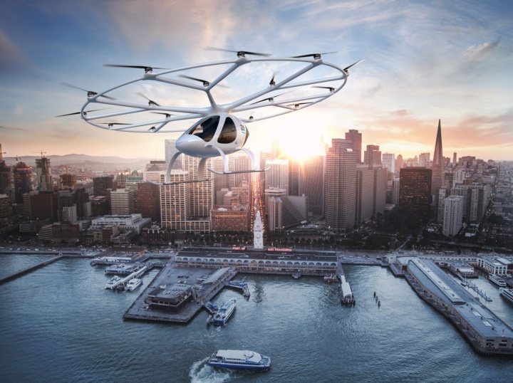 On board the flying taxi are flight control algorithms developed by the Institute of Flight Mechanics and Control