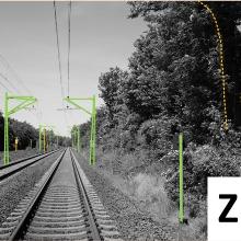 Presseinfo 81: Visualisierung der Gleisumfeld-Überwachung., Copyright: Eisenbahnbundesamt (EBA)