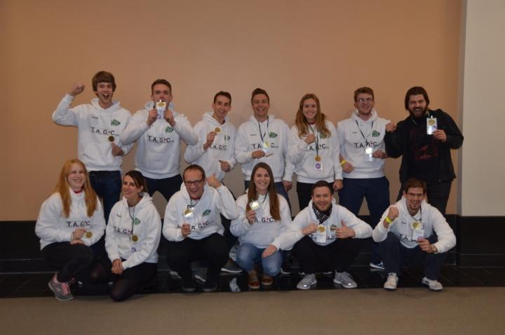 Das iGEM-Team 2018 der Universität Stuttgart. (c) Universität Stuttgart
