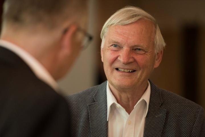 Prof. Ernst Messerschmid, der erste Geschäftsführer der TTI