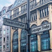 Street signs in Berlin (symbol image)