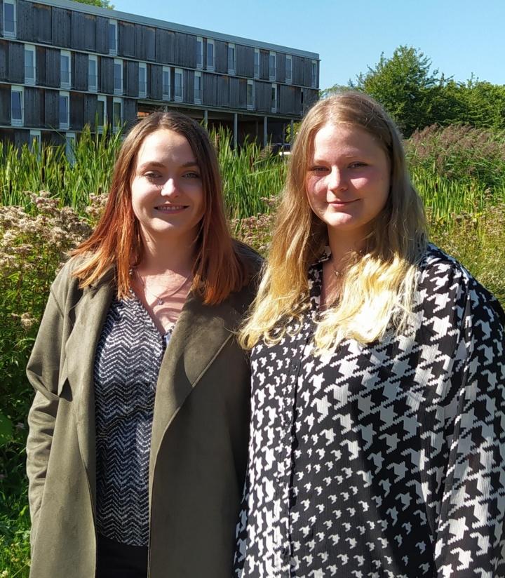 Natalie Cleß (links) und Alexandra Rubensdörffer (rechts).