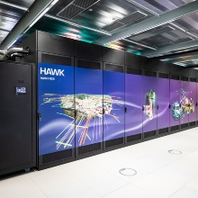 The new high-performance computer at HLRS: Hawk